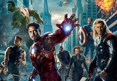 Avengers Assemble poster slice