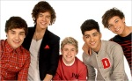 The boy band One Direction. Publicity 2012.