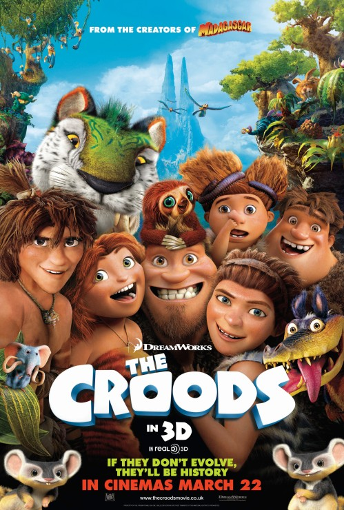 The Croods 3D (2013) Movie Review