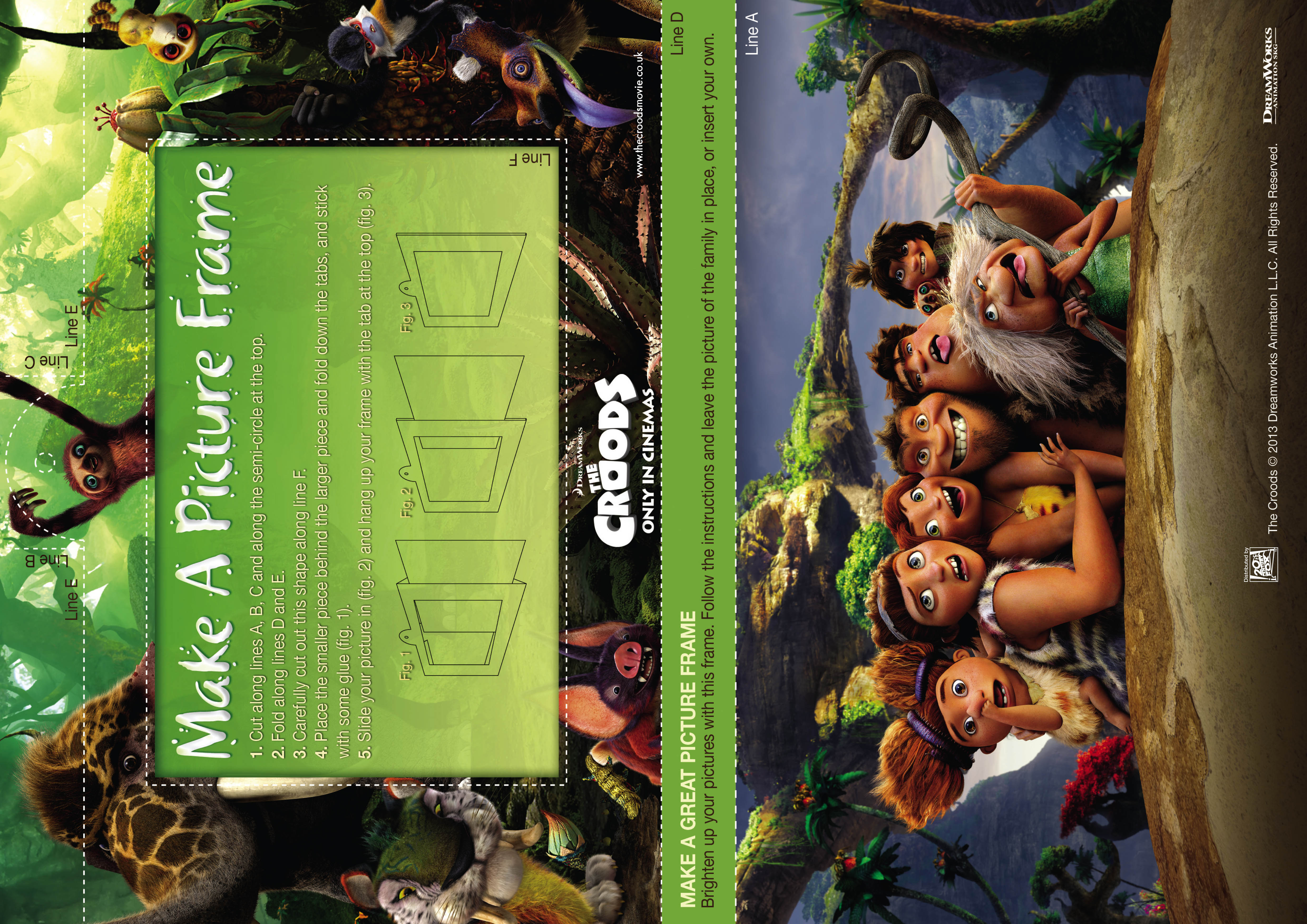 how long is the movie meet croods