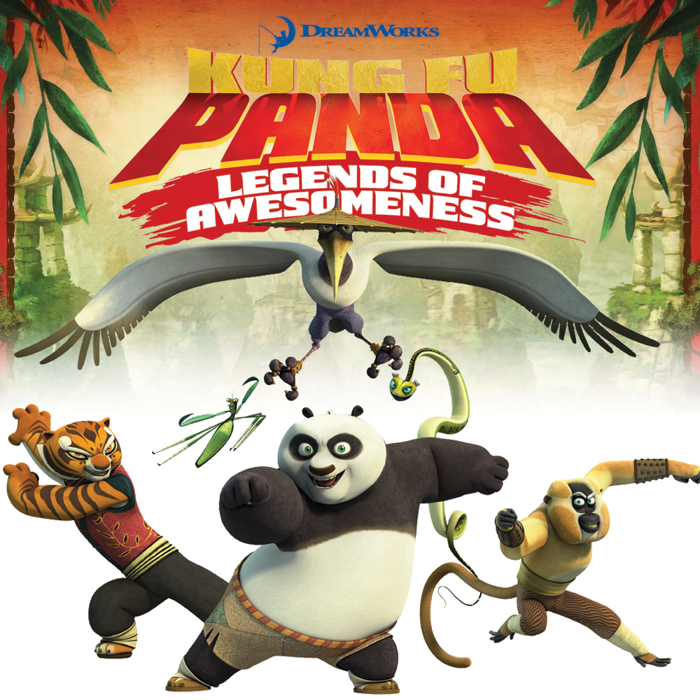 Kung Fu Panda Legends of Awesomeness S02E12 - Terror Cotta ...