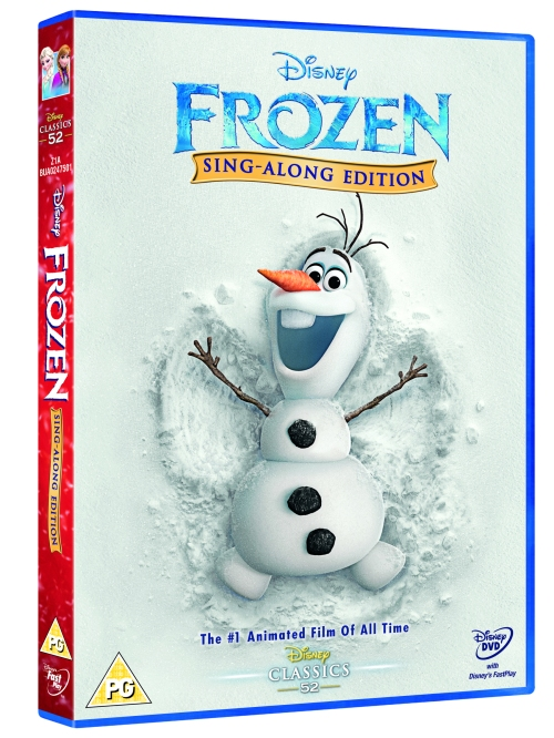 3D DISNEY FROZEN SING-ALONG EDITION