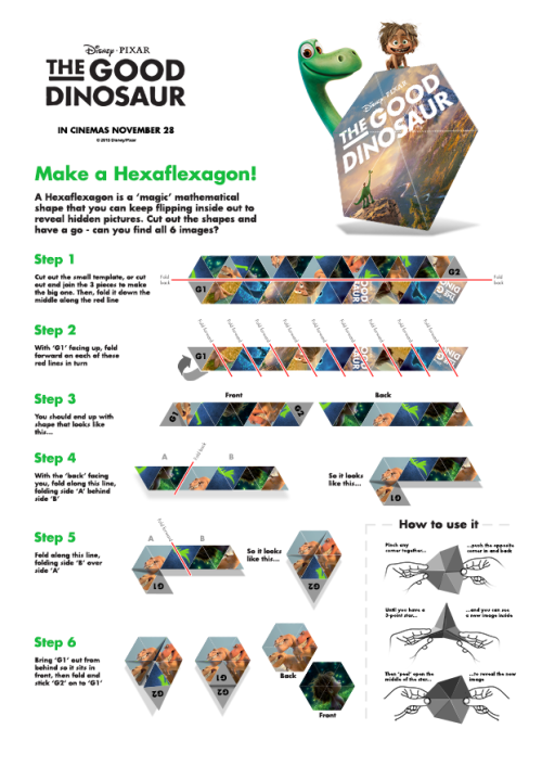 Make A Hexaflexagon!