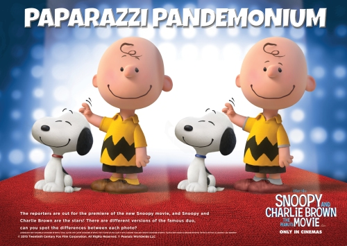 SNOOPY spotthedifference