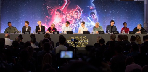 Star Wars: The Force Awakens European Press Conference