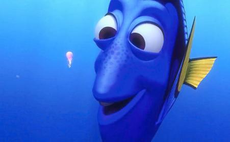 Finding Nemo (2003) Dory (voiced by Ellen DeGeneres) (Screengrab)