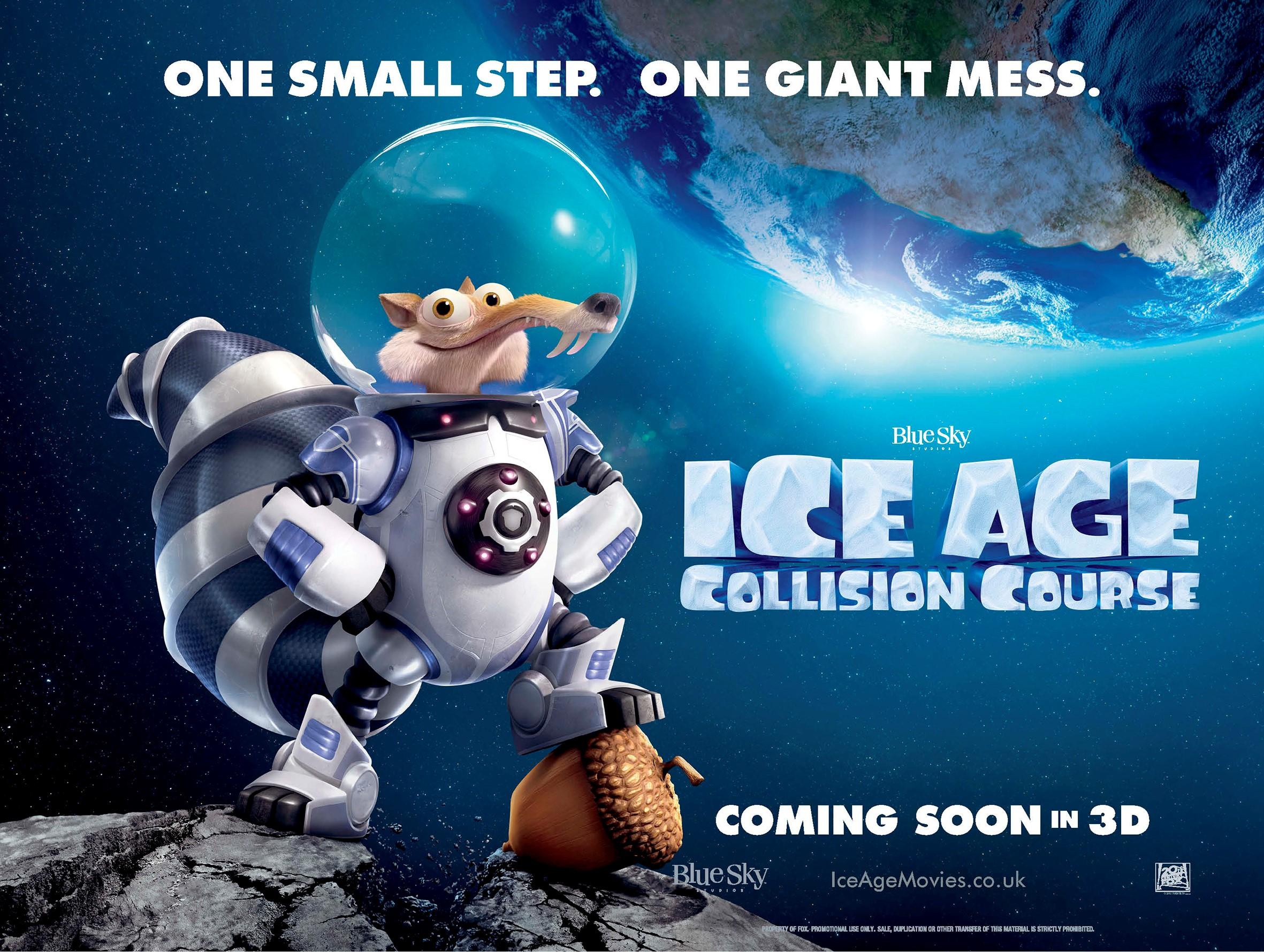 Ice Age Collision Course Teaser Quad