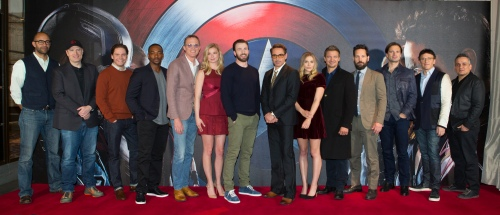 "European Photo Call Of Marvel's ""Captain America: Civil War"" i"