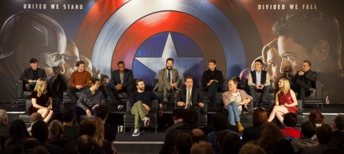 "European Press Conference Of Marvel's ""Captain America: Civil Wa"
