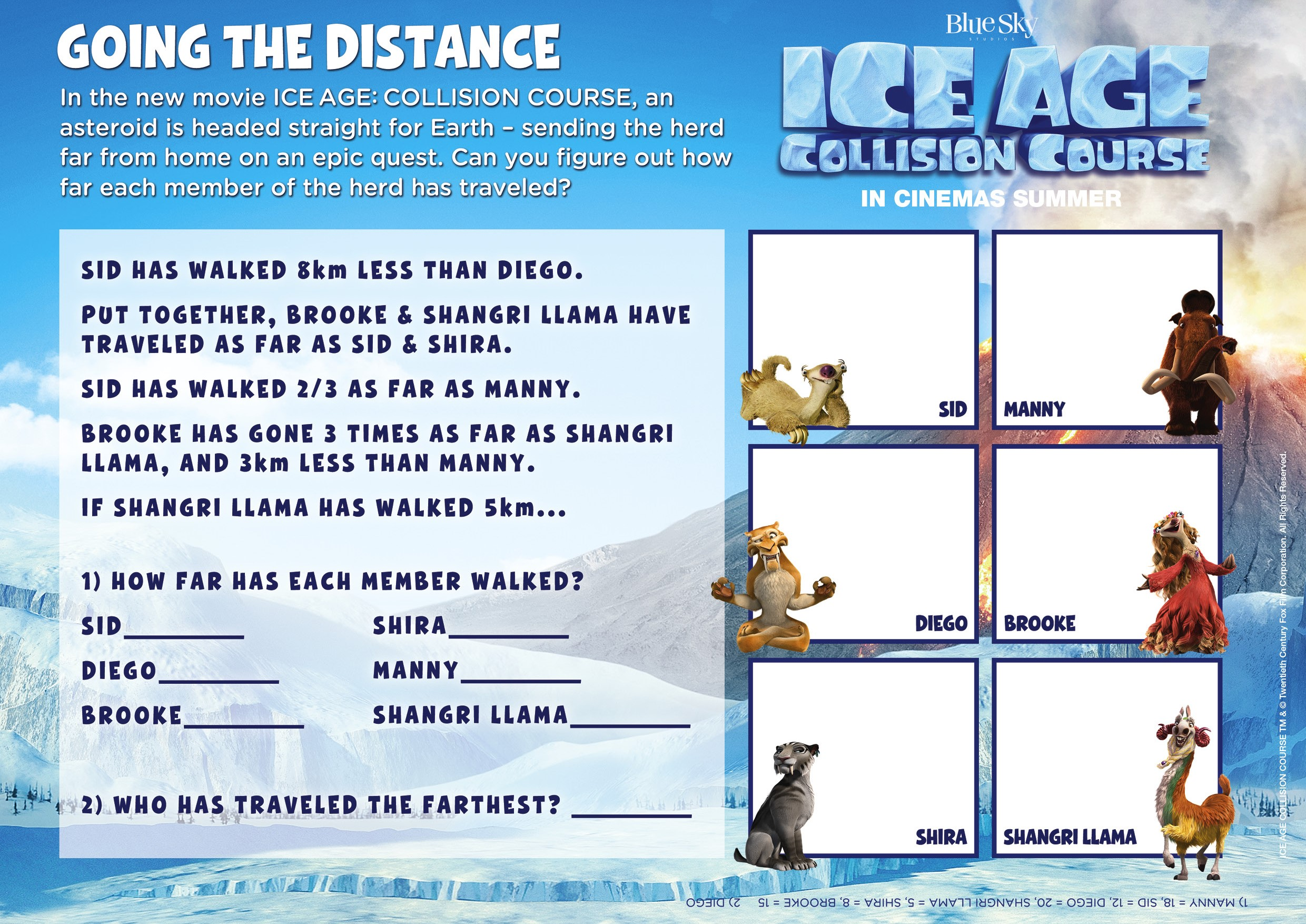 Ice Age Collision Course fun
