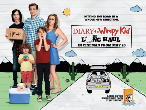 Diary of a Wimpy Kid The Long Haul Quad