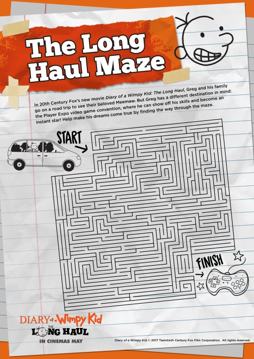 DOAWK_Activity_Sheets_Long_Haul_Maze